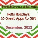 Hello Holidays: 10 Great Apps to Gift | Apps for Speech & Language | Scoop.it
