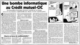 Crédit mutuel/presse régionale : avertissement de la CNIL | DocPresseESJ | Scoop.it