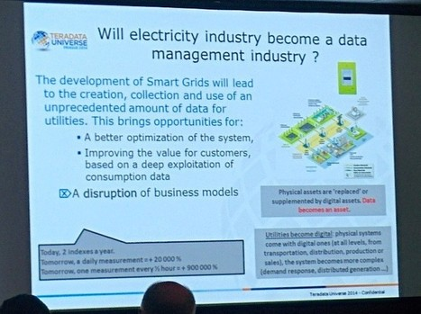 Big data : EDF évalue la solution UDA de Teradata pour ses compteurs Linky | Energy Market - Technology - Management | Scoop.it