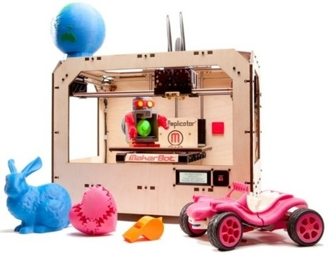 2012 a Big Year for MakerBot – New 3D Printer, $Millions in Funding, and Huge Growth Ahead | Singularity Hub | omnia mea mecum fero | Scoop.it
