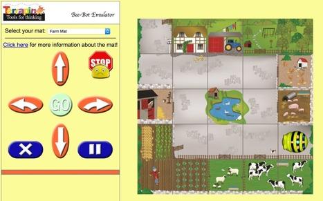 Emulador online para practicar con Bee-Bot | paprofes | Scoop.it