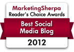Blog Awards: The 13 best marketing industry blogs (according to you) | MarketingSherpa Blog | Social Media Curator | Scoop.it