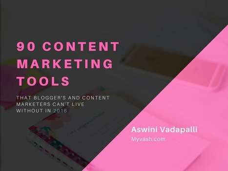 90 Content Marketing Tools Bloggers can't live without (2016) | Residual Income Mastery | Scoop.it