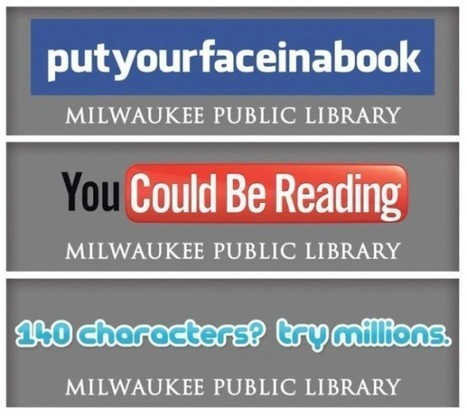 Public Library Tries to Bring Readers Back From the Internet With Billboards | Adult Literacy | Scoop.it