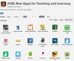 AASL's picks for apps and websites — @joycevalenza NeverEndingSearch   iPads, MakerEd and More  in Education   Scoop.it