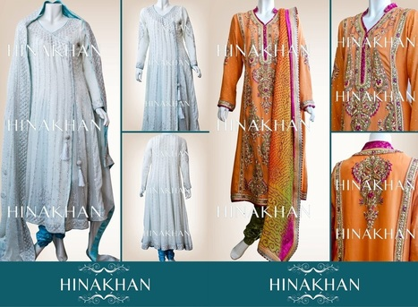 Hina Khan formal Winter collection 2013 for women | Rent Me A Farm | Scoop.it