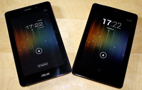 ASUS Fonepad vs Google Nexus 7: ecco un nuovo video confronto - Androidiani.com (Blog) | Migliori Tablet Qualità Prezzo, recensioni + Volantino Elettronica | Scoop.it