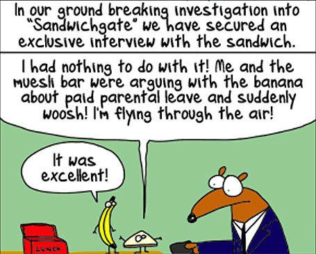 Sandwichgate: Exclusive interview   Australian Culture   Scoop.it