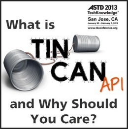 What is Tin Can and Why Should I Care? - Resources shared at #ASTDTK13 | Learning Engineering | Scoop.it