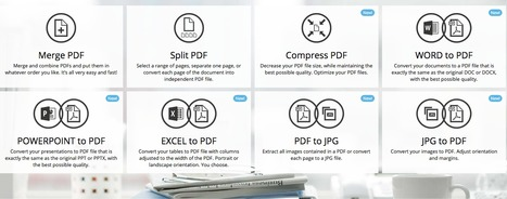 Online PDF tools for PDF lovers | Ed Tech and Instruction | Scoop.it