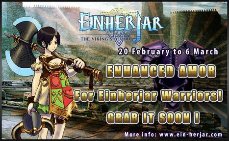 Gamasutra - Press Releases - Appirits released 'Enhanced Plates for Viking Warriors' in Einherjar | Einherjar - The Viking's Blood | Scoop.it