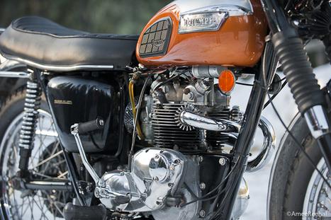 1972 Triumph T100C | Vintage, Classic & Custom Motorbikes | Scoop.it