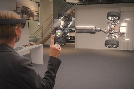 Microsoft and Volvo's new HoloLens showroom is fascinating and frustrating | 4D-Architecture | Scoop.it