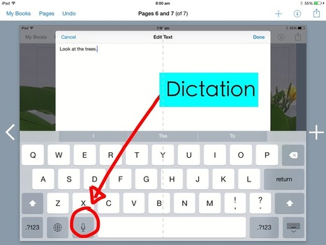 How to dictate a book in the Book Creator App | Everything iPads | Scoop.it