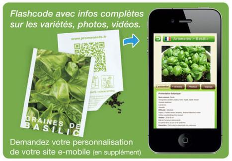 La technologie QRcode au service du végétal | QRdressCode | Scoop.it