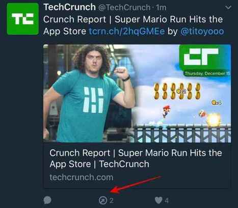 "Twitter Tests Design That Ditches Retweet Icon for ""Sharing"" 