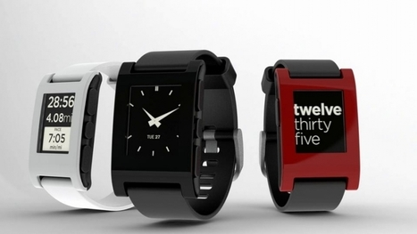 Pebble Watch for iPhone and Android, The Most Successful Kickstarter Project Ever - Forbes   Careers & Leadership   Scoop.it