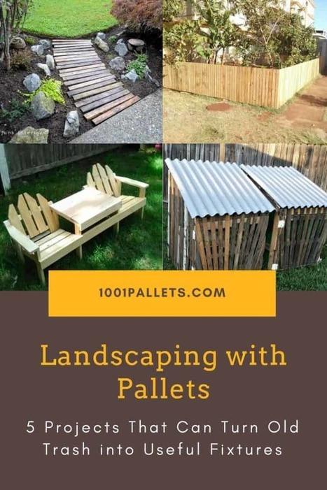 Diy Pallet Garden Projects Garden Pallet Benches In 1001