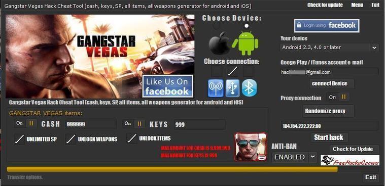 Gangstar Vegas Hack Tool Free Download | FreeHa...