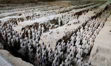 China unearths ruined palace near terracotta army - The Guardian | Ancient worlds | Scoop.it