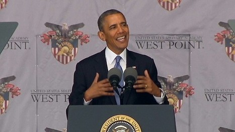 Obama outlines foreign policy vision of 'might and right' - CNN | Everyday Leadership | Scoop.it