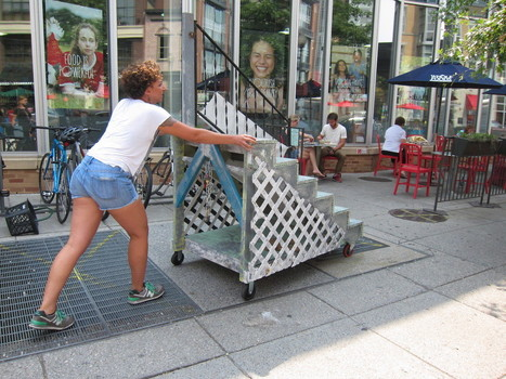 A Mobile Stoop that Builds Community | Artful Interventions | Scoop.it