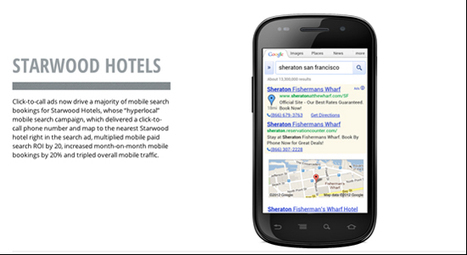 Case study: How Starwood boosted its mobile paid search ROI | Integrated Brand Communications | Scoop.it