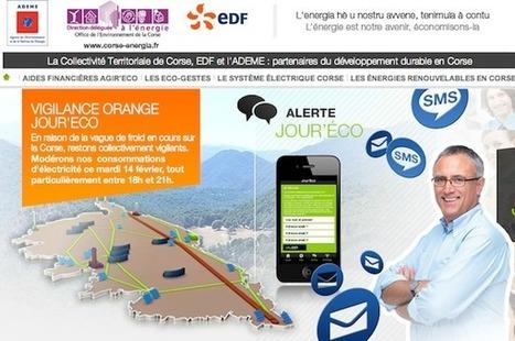 Corse energia - La Collectivité Territoriale de Corse, EDF et l'ADEME : partenaires du développement durable en Corse   Le groupe EDF   Scoop.it