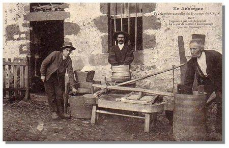 Fromage à la carte (postale) - En Auvergne | The Voice of Cheese | Scoop.it