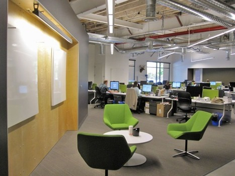When a Workspace Facilitates Communication by Andrea Paoletti | Work Environments For the 21st Century | Scoop.it