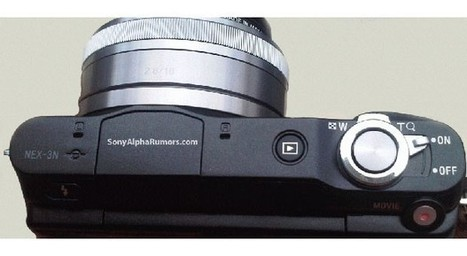Purported Sony Nex-3N image leaks showing electronic zoom control - Engadget | HDSLR news | Scoop.it