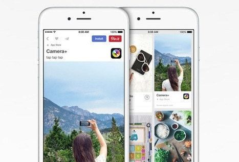 Apple and Pinterest Join Forces to Help You Discover New Apps | WIRED | Arround real+digital, digital+fashion, etc | Scoop.it