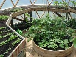 Dome greenhouse - construire un dôme-serre | Potager & Jardin | Scoop.it
