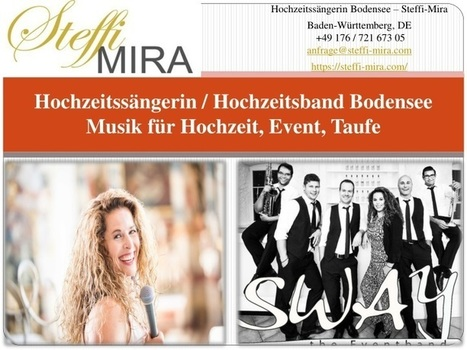 Hochzeitssanger Bodensee Sanger Fur Hochzeit Oggi Music