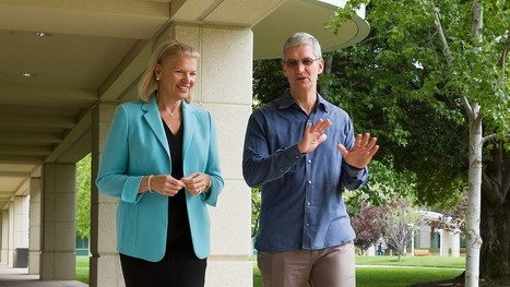Apple & IBM Want To Put 100 Business Apps On Your iPhone - Forbes | Apple iPhone, iPad and iCloud for business! | Scoop.it