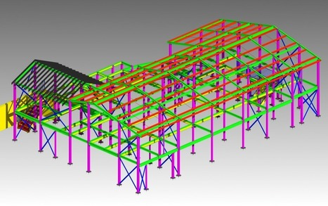 Industrial structural steel modeling - | Architecture Building Information Modeling – BIM Services | Scoop.it