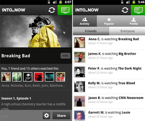 IntoNow teams with Project Runway, launches on Android - Lost Remote | Richard Kastelein on Second Screen, Social TV, Connected TV, Transmedia and Future of TV | Scoop.it