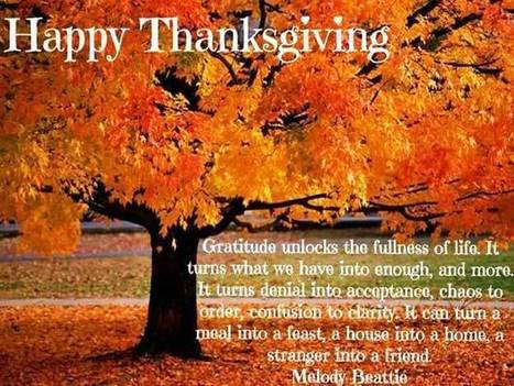 Happy Thanksgiving Quotes For Family Frie