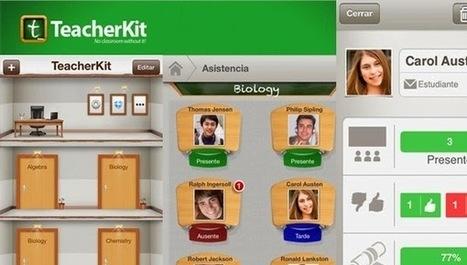 TeacherKit. App para gestionar el aula | #REDXXI | Scoop.it