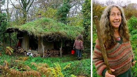 Depuis 17 ans, elle vit seule et en totale autonomie totale dans la forêt. (VIDÉO) | Immobilier | Scoop.it