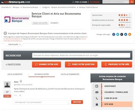 SAVdesMarques, la gestion de la relation client collaborative - FrenchWeb.fr | RelationClients | Scoop.it