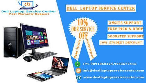 Dell Laptop Service Center in India Onsite Supp