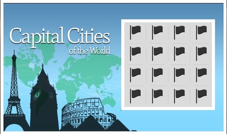 Capital Cities Quiz | Brainfriendly, motivating stuff for ESL EFL learners | Scoop.it