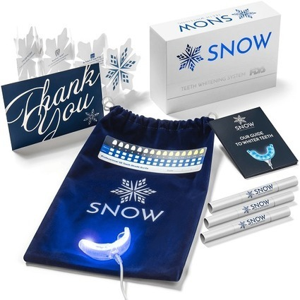 Kit Snow Teeth Whitening Box Pics