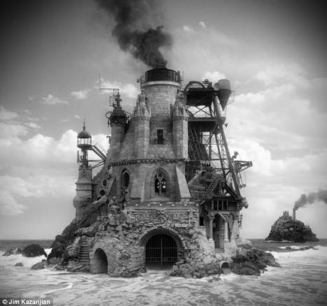Inside the mind of a mad architect: Surreal images of buildings from another world created using thousands of digital pictures | Arte y Fotografía | Scoop.it