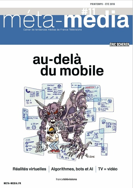 Au delà du mobile | La petite revue du journaliste web | Scoop.it