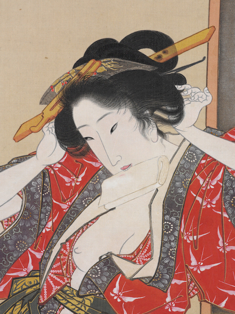 Sex and Suffering: The Tragic Life of the Japanese Courtesan   Studio Art and Art History   Scoop.it