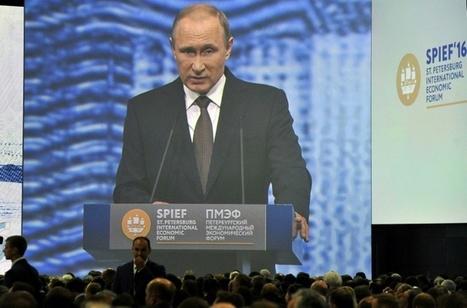 Poutine vise des taux de croissance d'au moins 4% pour la Russie   Pierre-André Fontaine   Scoop.it