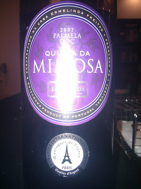#vinhodanoite 2 Ermelinda Freitas Quinta da Mimosa 2007 | Flickr: partage de photos! | #vinhodanoite | Scoop.it