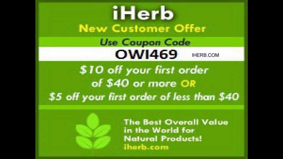 Iherb discount code